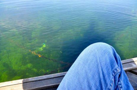 霍爾寧達湖和傑夫的二郎腿