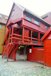 布呂根木造老屋