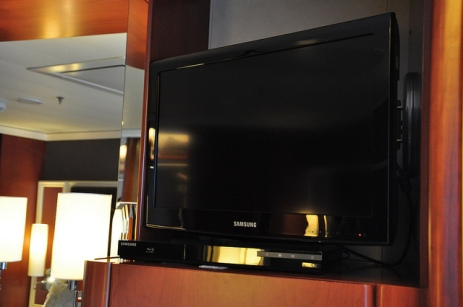 在房裡看電視的機率,意外地高
