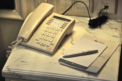 舊式的電話機,功能相當一般