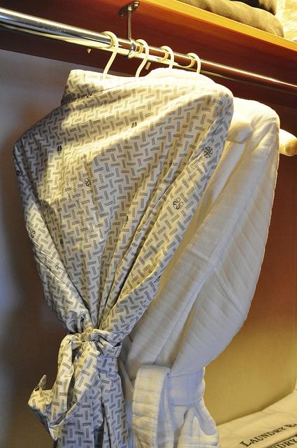 除了浴袍,當然還要有日式浴衣