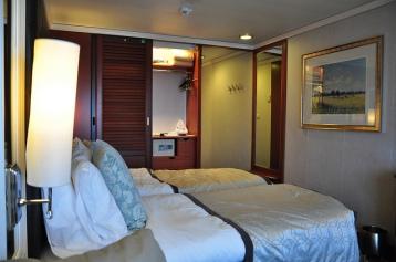 一般艙房面積約25平方米