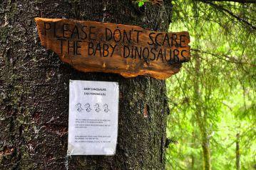別嚇到了小恐龍