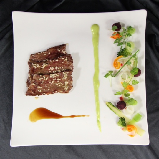 Signature Tepan Grilled Wagyu Beef served in Seishin