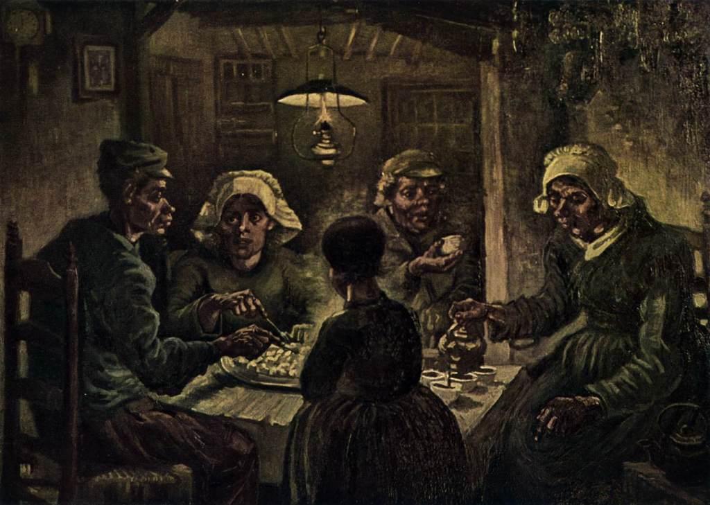 吃馬鈴薯的人 The Potato Eaters
