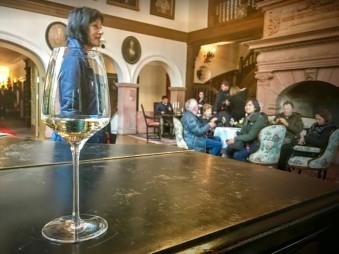 停靠 Rudesheim 時安排酒莊品酒