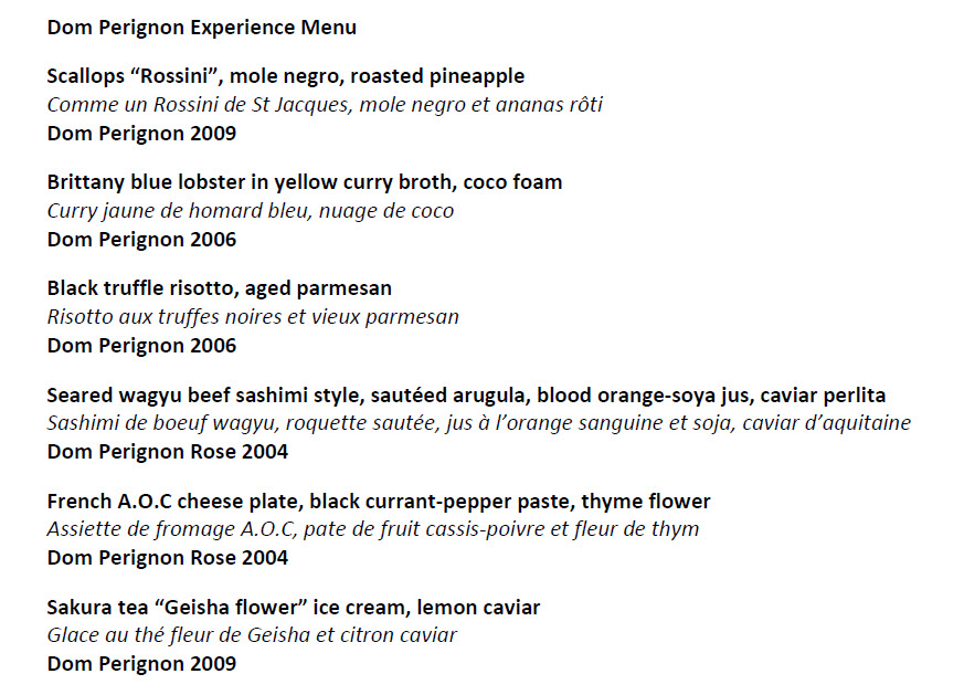 Dom Perignon Experience Menu.jpg