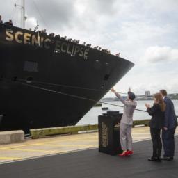 Scenic Eclipse 紐約舉行命名典禮,各家頂級探險船陸續投入戰局